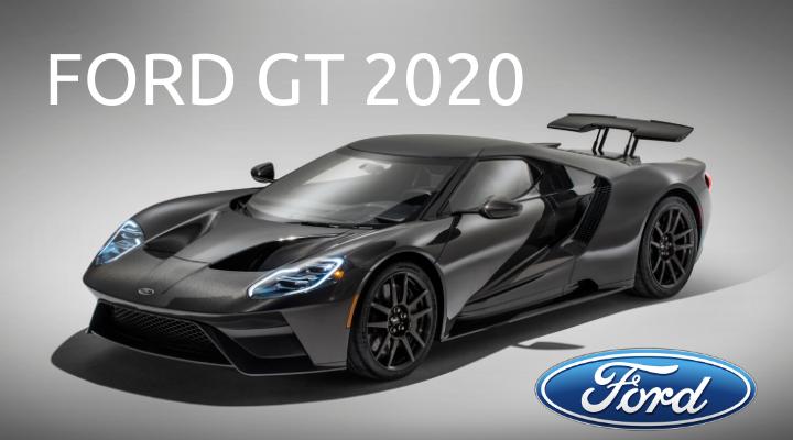 เผยโฉมซูเปอร์คาร์ในตำนาน Ford GT 2020